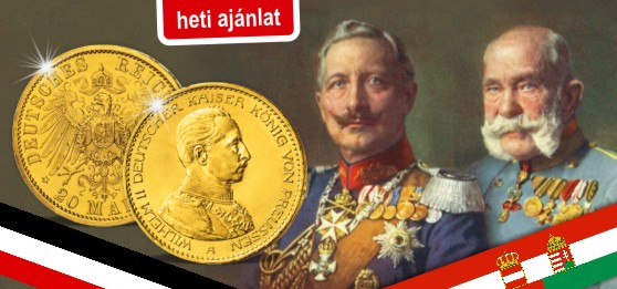 Történelmi aranybefektetés – eredeti 100 éves aranypénz